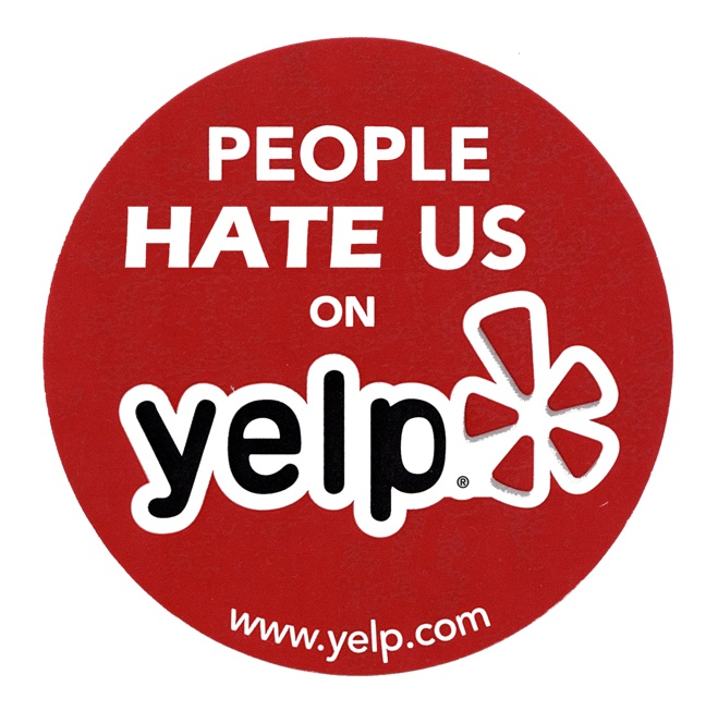 People hate us on yelp, bad reviews online, how to take off bad reviews online
